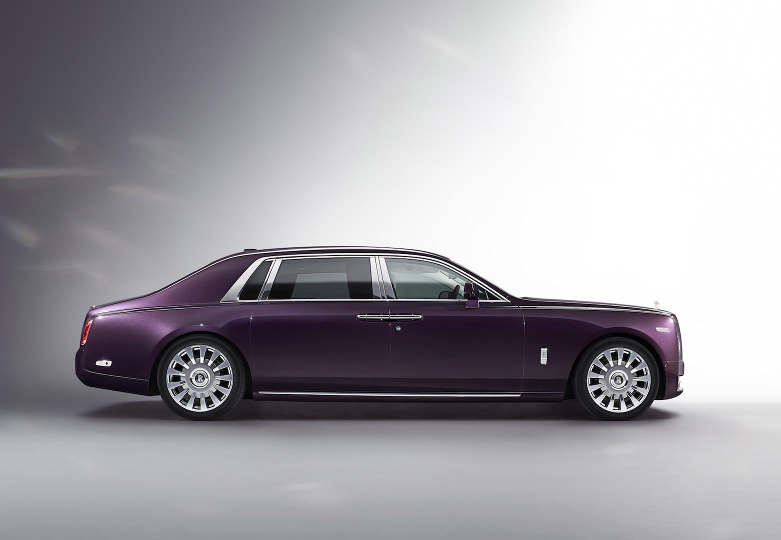 WORLD LXRY Rolls Royce Phantom 2