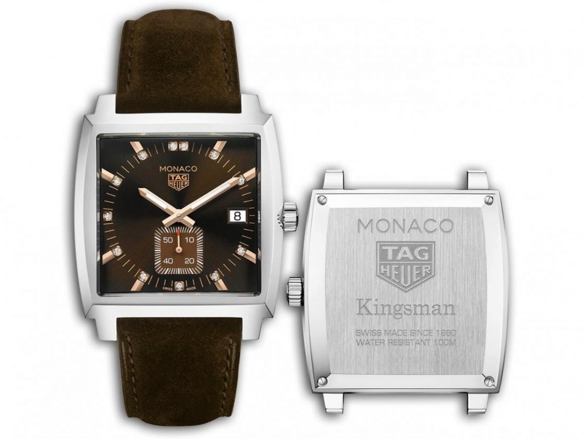 The Lady Kingsman Special Edition Monaco Watch By Tag Heuer