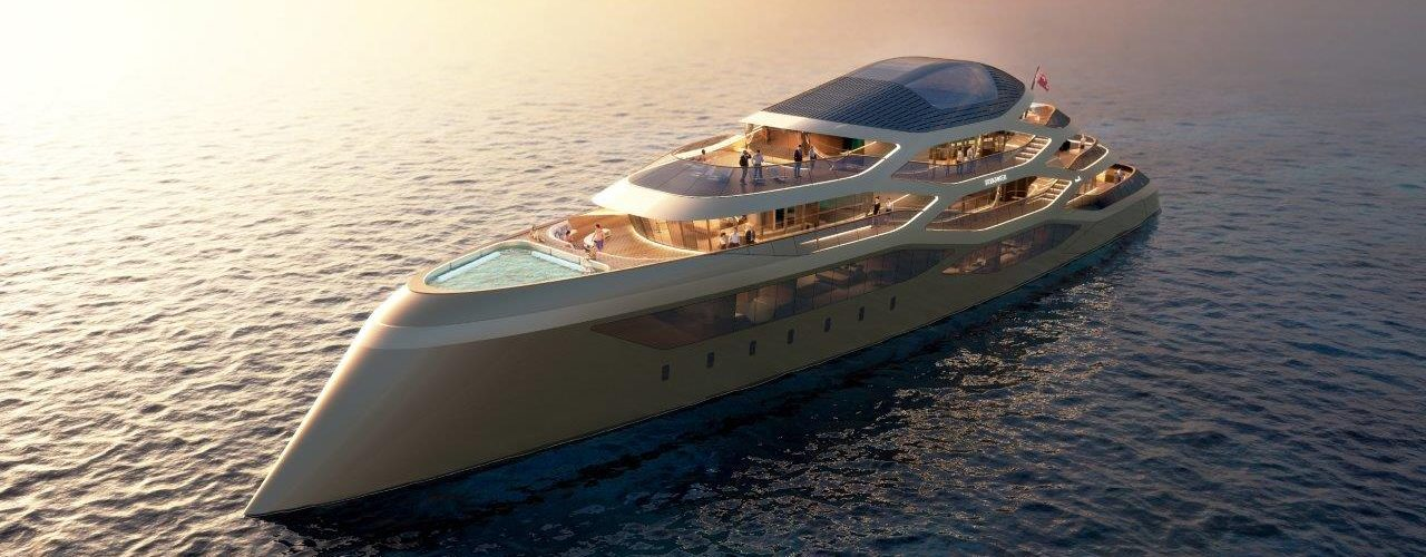 WORLD LXRY se77antasette benetti yachts exterior concept