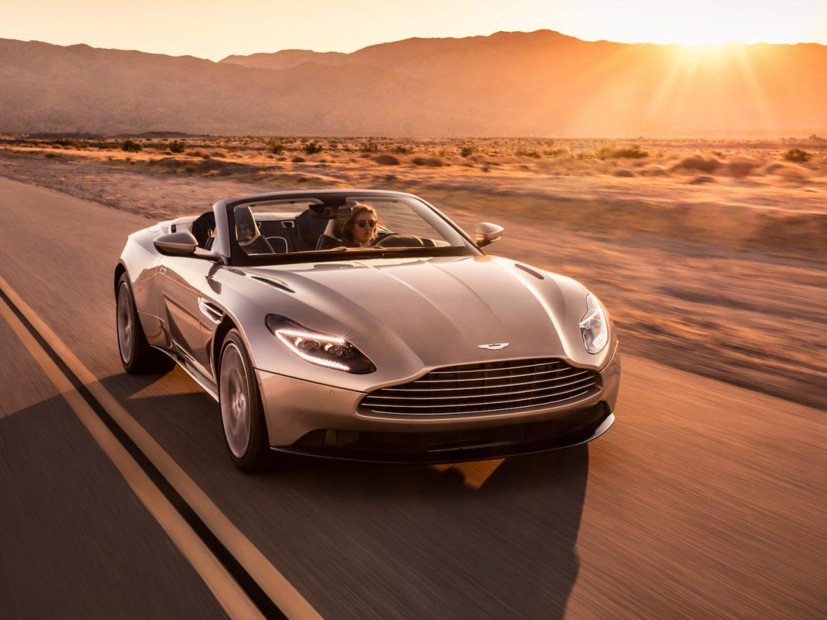 The Return of the Convertible Sports GT: Aston Martin DB11 Volante
