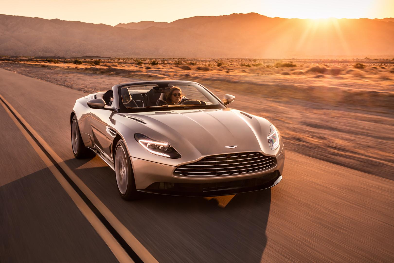 WORLD LXRY New Aston Martin DB11 Volante Convertible III