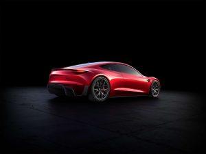 2017 Tesla Roadster Convertible Back WORLD LXRY