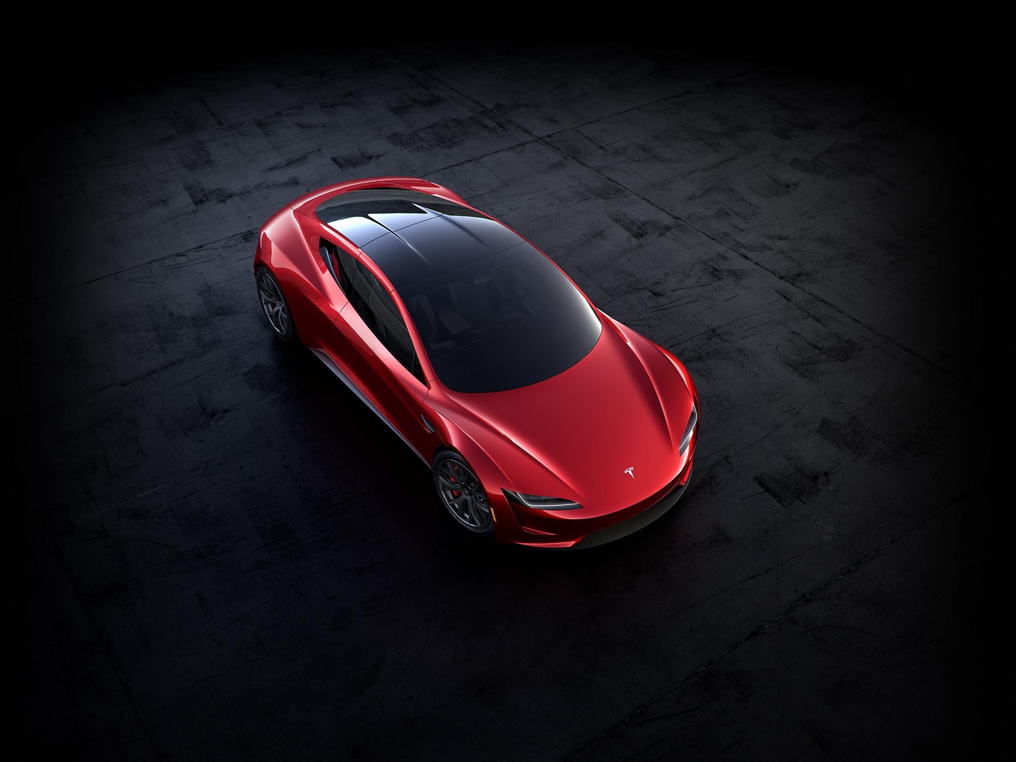 2017 Tesla Roadster Top WORLD LXRY