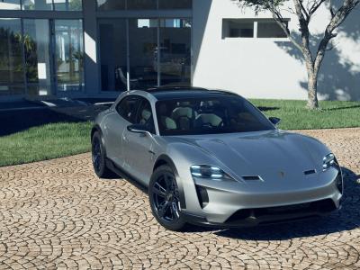 Porsche Mission E Cross Turismo: The Porsche of Tomorrow