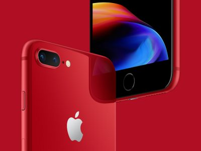 Apple's iPhone Product(RED) Launch for iPhone 8/8+ Aims To Help Millions Living With HIV/AIDS