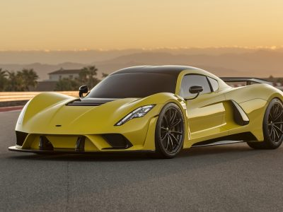 The Hennessey Venom F5 Sets Off To Be The World's Fastest