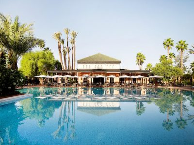 La Mamounia Is A Gem Located In The Imperial Red City Of Marrakech